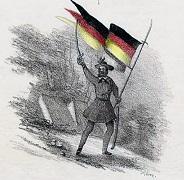 Friedrich Hecker mit