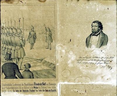 Erinnerungsbild an Friedrich Neff,