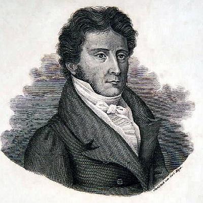 Carl von Rotteck, Stahlstich 1846