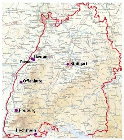 Karte BW