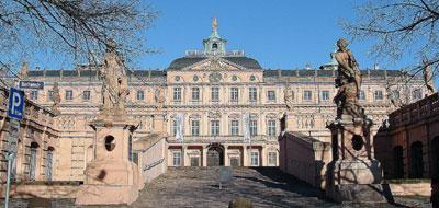 Die Barockresidenz: wichtigster Schauplatz der Revolution von 1848/49 in Rastatt