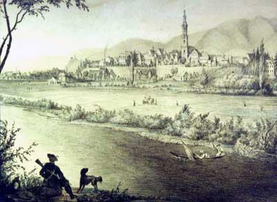 Ansicht der Stadt Offenburg