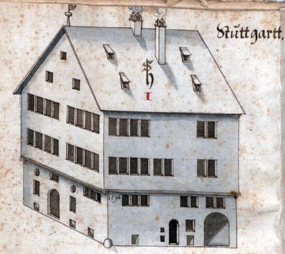 Das Wohnhaus Heinrich Schickhardts in Stuttgart