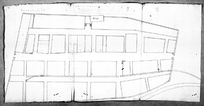 Schickhardts Wiederaufbauplan von Oppenau