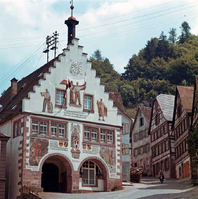 Rathaus/Marktplatz von Schiltach