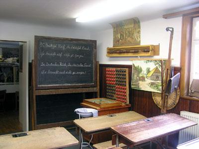 Schulstube von 1930