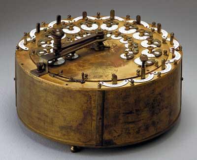 Rechenmaschine von Philipp Matthäus Hahn