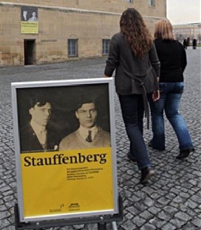 Die Stauffenberg-Erinnerungsstätte in Stuttgart, ein historischer Ort