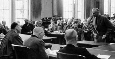 Prozess zum 20. Juli 1944: Dr. Carl Goerdeler am 8. September 1944