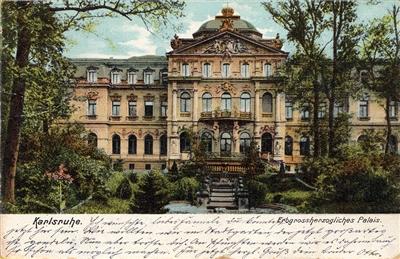 Erbgroßherzogliches Palais von Süden