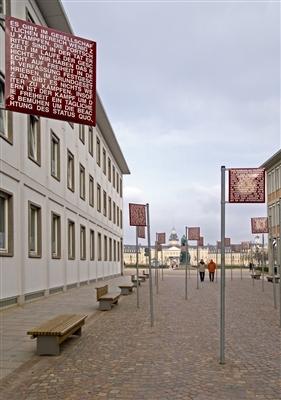 Der Platz der Grundrechte.