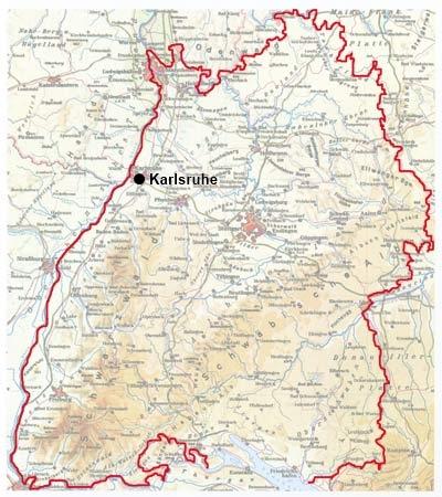 Karte zu historischen Lernorten