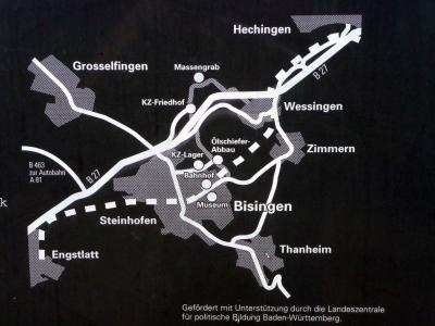Karte zum Lehrpfad