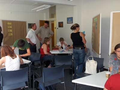 Projektarbeit in den Seminarräumen des Bundesarchivs