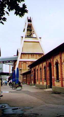 Besucherbergwerk Bad Friedrichshall-Kochendorf, Einfahrt