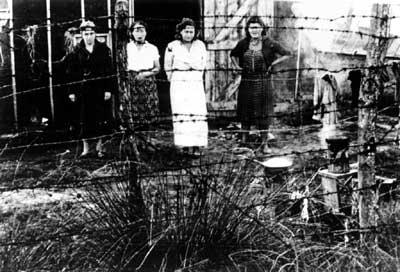 : Internierte Frauen im Konzentrationslager Gurs