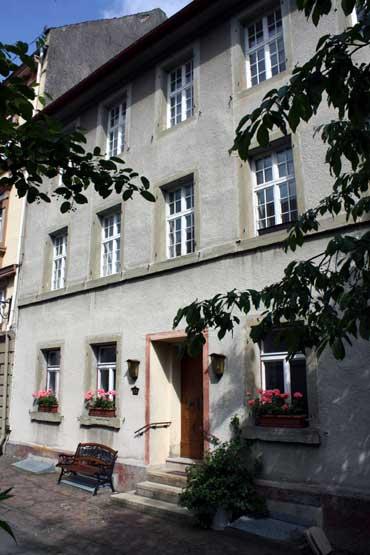 Das ehemalige jüdische Gemeindehaus