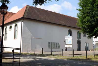 Das ehemalige Synagogengebäude