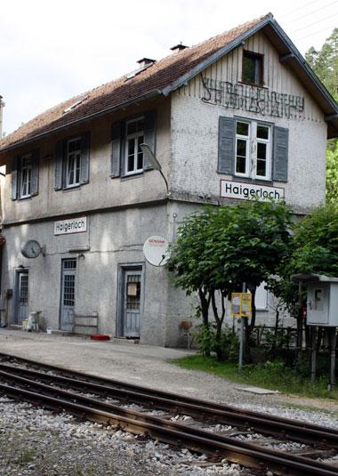 Letztes Kapitel eines Leidensweges: Der Bahnhof Haigerloch war Ausgangspunkt für drei der vier Deportationsmaßnahmen