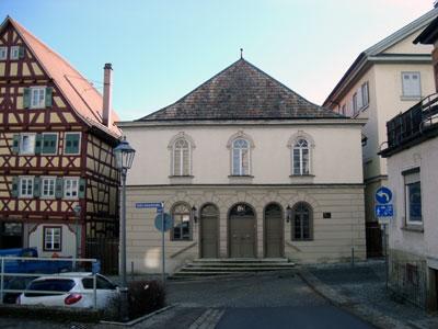 Die restaurierte Alte Synagoge