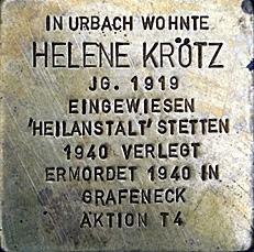 Stolperstein für Helene Krötz