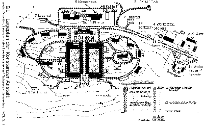 Lageplan der neugegründeten Anstalt bei Konstanz