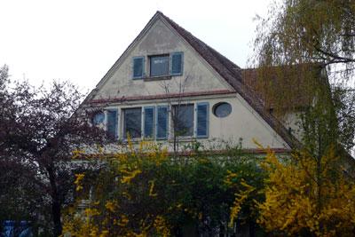 Der ehemalige Gutshof der Napola, heute privater Reiterhof