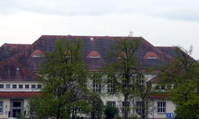 Verwaltungsgebäude des ZPR Reichenau - ehemals Napola Reichenau