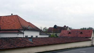 Die alten Versorgungsgebäude