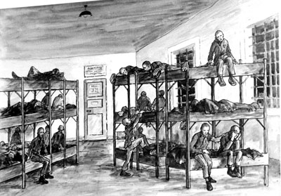 Unterkunft (Häftlingszeichnung)