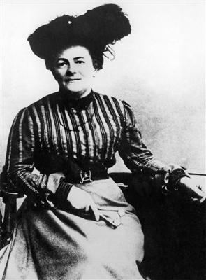 Clara Zetkin, um 1892