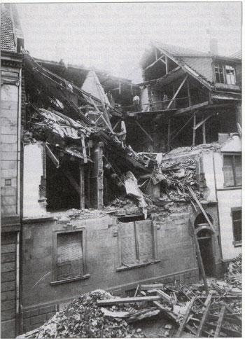 Bomben auf Freiburg: 17.8.1917, Rosastraße