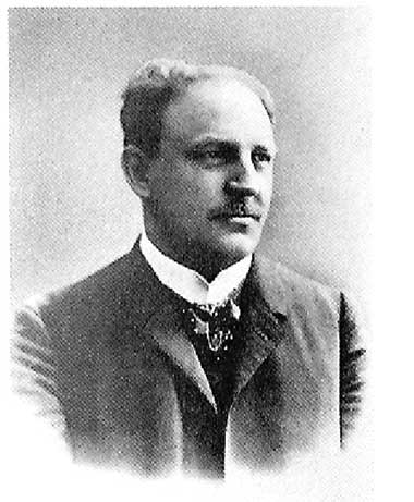 Der Vater Dr. Friedrich Blum