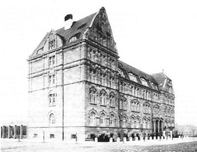Das Lessing-Gymnasium Mannheim im Jahre 1907