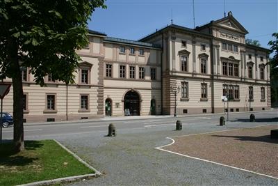 Das Staatsarchiv Sigmaringen in den Räumen des ehemaligen Prinzenbaus