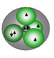 Stickstoff-Atom