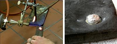 Herstellen einer Silberkugel