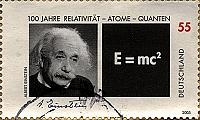 Briefmarke Albert Einstein