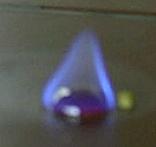 brennender Schwefel