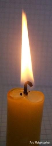 Portalbild-Kerze