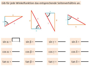 Checkliste: Trigonometrische Berechnungen — Landesbildungsserver ...