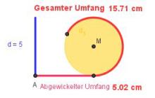 Kreisberechnung