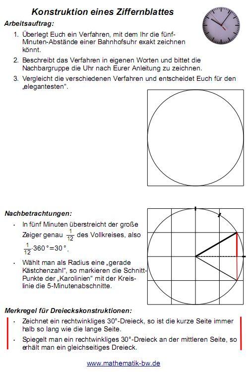 Tolle Zifferblatt Winkel Arbeitsblatt Galerie - Arbeitsblatt Schule ...