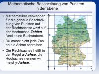 Koordinatensysteme — Landesbildungsserver Baden-Württemberg