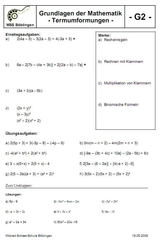 Arbeitsblatt Binomische Formeln : Niedlich binomische multiplikation arbeitsblatt fotos