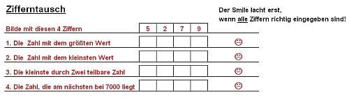 vorgänger nachfolger klasse 1