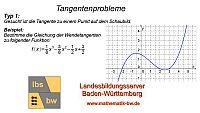 Lernvideo Tangentengleichung zum Problem 1