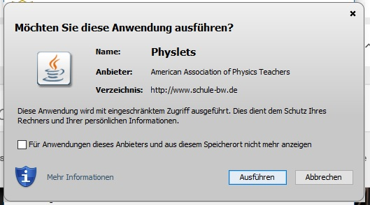 Fenster Physlets