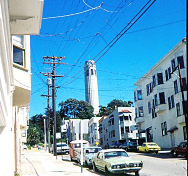 Verkabelung in San Francisco