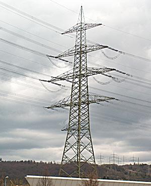 380 000 Volt Leitung